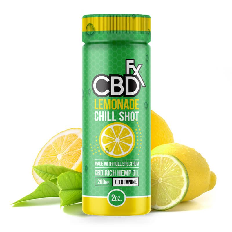 CBDFX - Lemonade CBD Chill Shot – 20mg