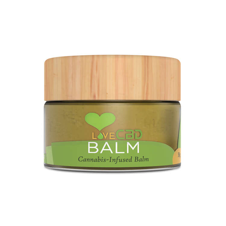 LOVE CBD - BALM – 10 GRAMS (100MG CBD)