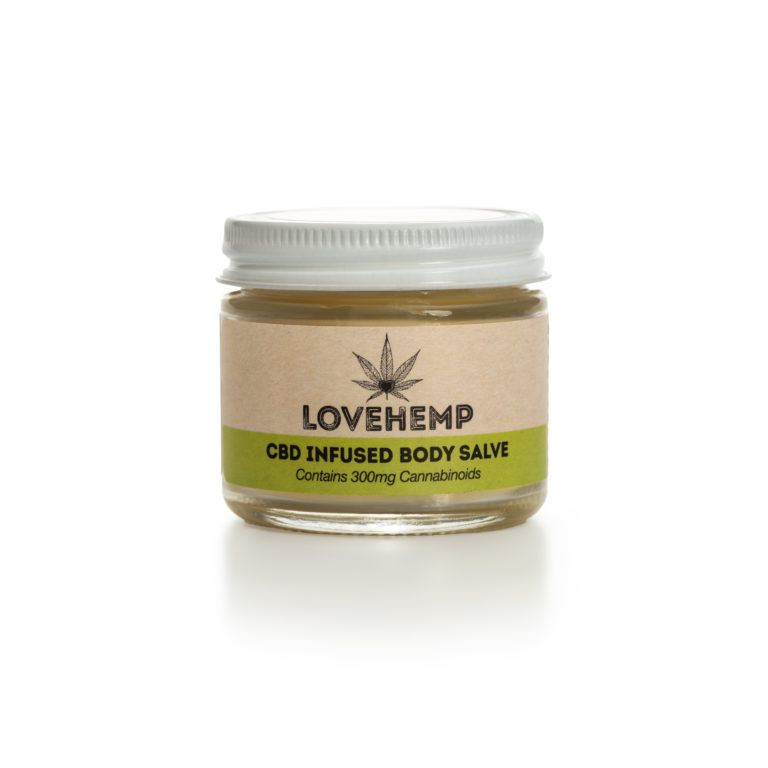 Love Hemp®  - Body Salve – 50ml – 300mg CBD
