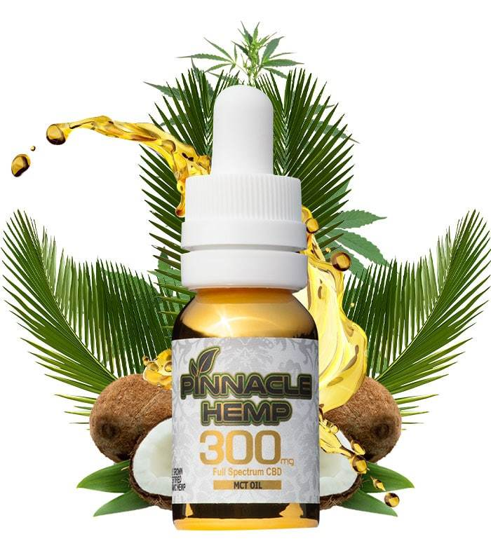 Pinnacle Hemp - Full Spectrum MCT Oil 300mg CBD